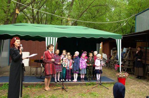 11 мая состоялся праздничный концерт в храма прп. Серафима Саровского в Кунцеве