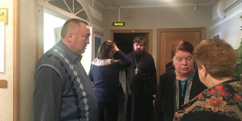 Посещение ТЦСО «Ново-Переделкино»