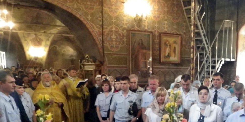 Молитва о сотрудниках полиции, погибших при исполнении служебного долга