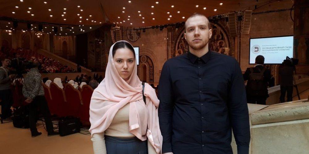 Представители храма на Общецерковном съезде по социальному служению