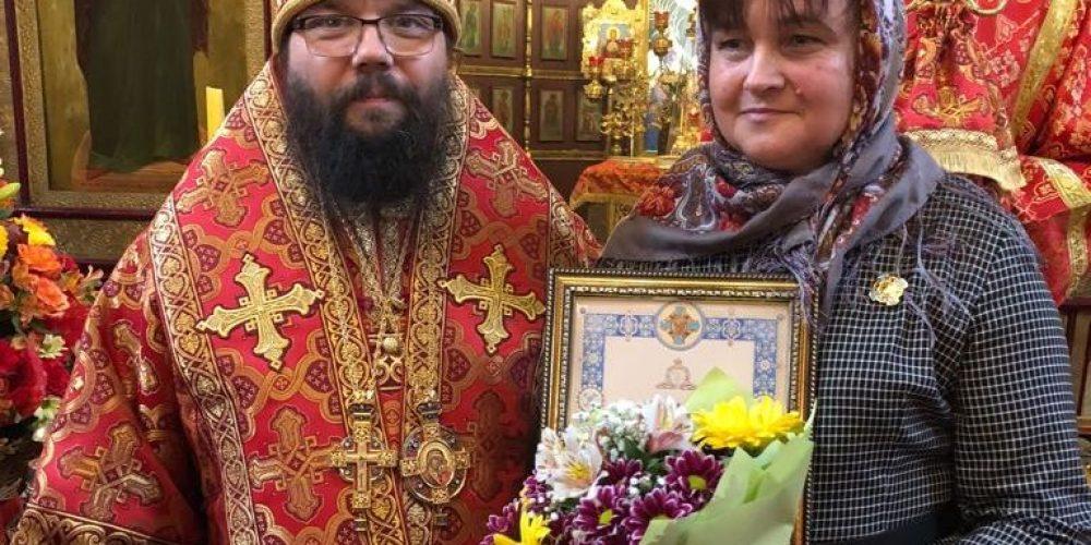 Божественная литургия в храме Архистратига  Михаила в Тропарево