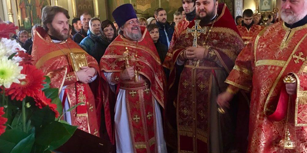 Престольный Праздник в храме Архангела Михаила