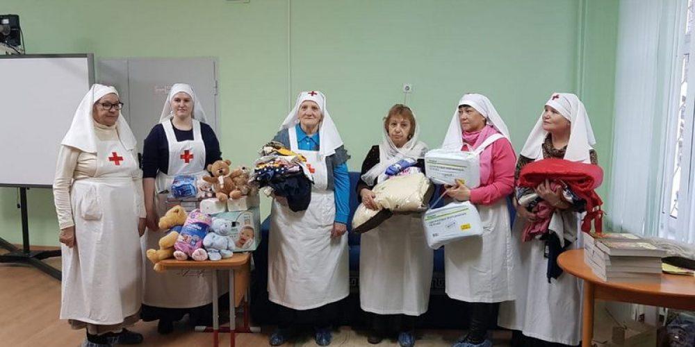 Поздравление воспитанников детского дома с Рождеством Христовым
