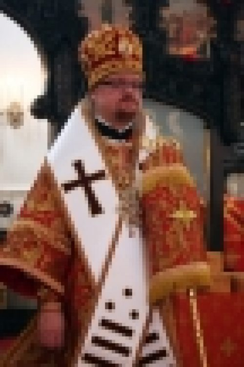 В праздник Иверской иконы Божией Матери епископ Бронницкий Игнатий возглавил Божественную Литургию в храме Воскресения Христова в Сокольниках