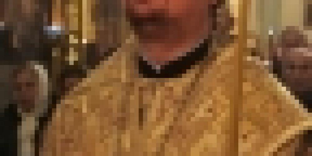 Епископ Бронницкий Игнатий совершил Всенощное бдение в храме Рождества Иоанна Предтечи на Пресне