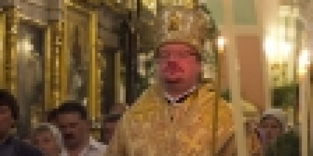 В канун праздника Святой Троицы епископ Выборгский и Приозерский Игнатий совершил всенощное бдение в храме Рождества Иоанна Предтечи на Пресне