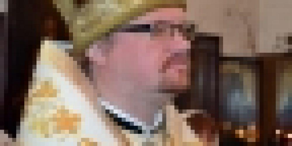 Епископ Выборгский и Приозерский Игнатий совершил Литургию в храме в честь Живоначальной Троицы в районе Троице-Голенищево