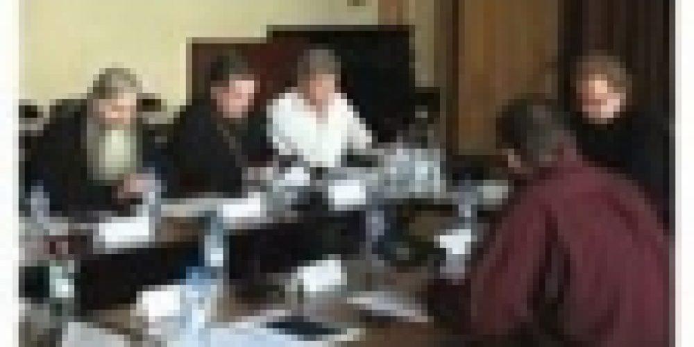 Епископ Выборгский и Приозерский Игнатий принял участие в рабочей группе по подготовке к празднованию 70-летия избрания на Патриарший престол митрополита Сергия (Страгородского)