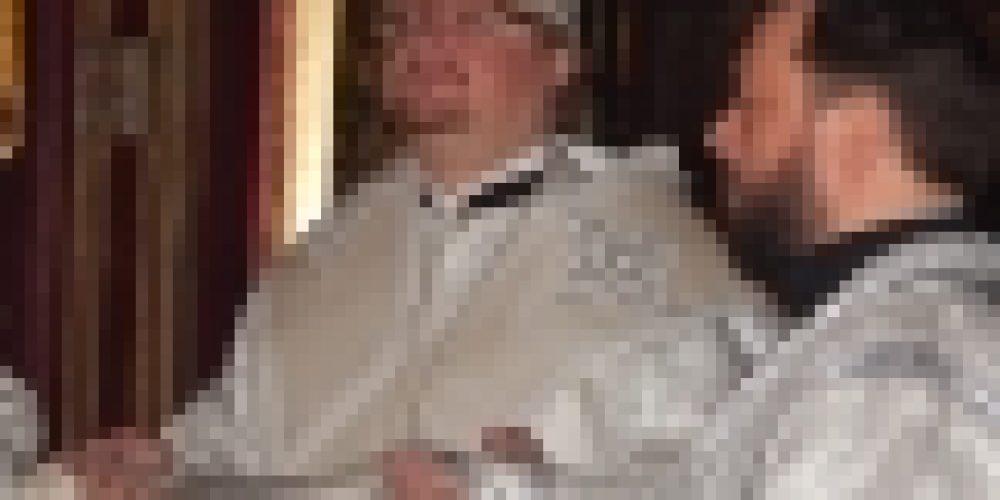 Епископ Выборгский и Приозерский Игнатий совершил Литургию в храме Архангела Михаила в Топарево