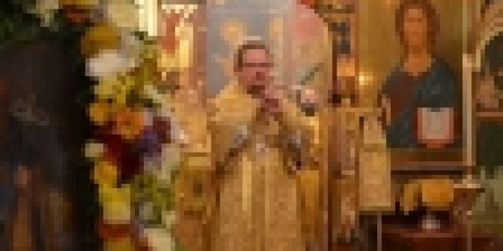 Епископ Выборгский и Приозерский Игнатий совершил Великое Освящение храма свт. Димитрия Ростовского в Очакове