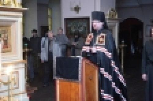 В четверг и пятницу первой седмицы Великого поста состоялся визит епископа Выборгского Игнатия в Коневский Рождество-Богородичный мужской монастырь