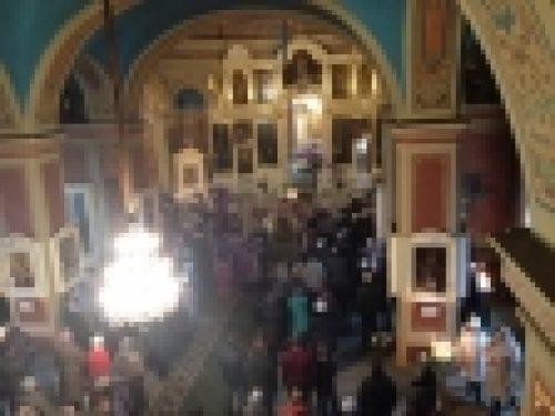 В день Торжества Православия епископ Выборгский Игнатий совершил Литургию в Спасо-Преображенском соборе г. Выборга