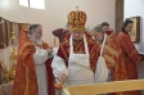 Епископ Выборгский и Приозерский Игнатий совершил Великое освящение храма Воскресения Христова в Толстопальцево и Литургию во вновь освященном храме