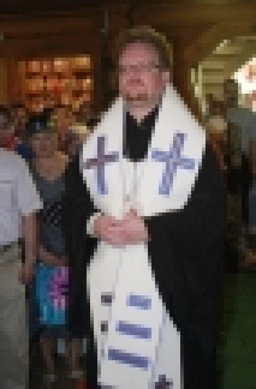 В Всеволжской районе епископ Выборгский и Приозерский Игнатий совершил молебен перед  строительством нового храма