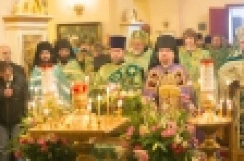Епископ Выборгский и Приозерский Игнатий возглавил епархиальный праздник, посвященный памяти прп. Арсения Коневского в Коневском монастыре
