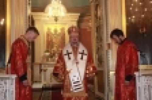 Епископ Выборгский и Приозерский Игнатий совершил Литургию в Спасо-Преображенском кафедральном соборе г.Выборга