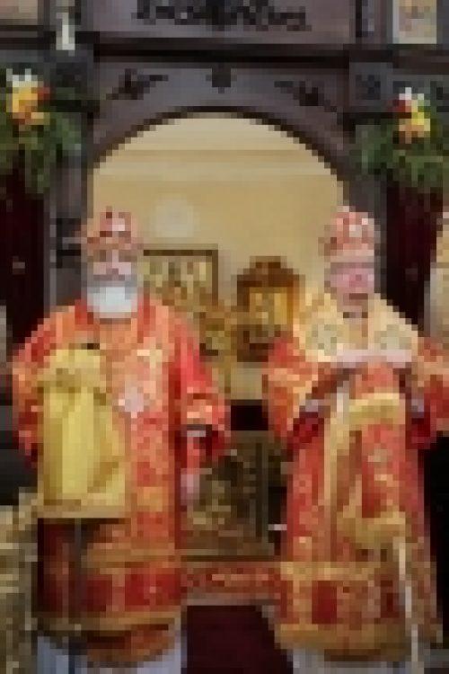 Епископ Выборгский и Приозерский Игнатий принял участие в торжествах по случаю празднования 87-й годовщины образования Ленинградской области и 720-летия города Приозерска