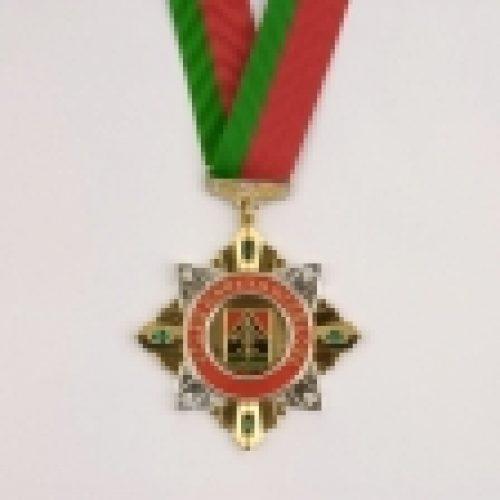 Епископ Выборгский и Приозерский Игнатий награжден орденом Почета Кузбасса