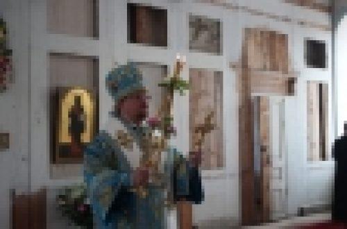 Епископ Выборгский и Приозерский Игнатий возглавил торжества по случаю празднования Коневской иконы Божией Матери