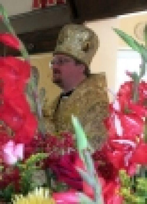 Епископ Выборгский и Приозерский Игнатий совершил Божественную литургию в храме свт. блгв. князя Александра Невского при МГИМО