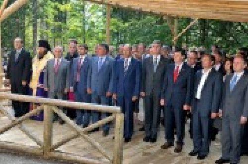 Епископ Воскресенский Савва возглавил делегацию Русской Православной Церкви, принимающую участие в траурных мероприятиях в Словении
