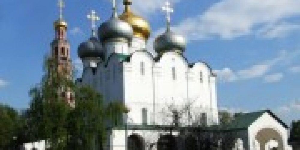 Патриарший наместник Московской епархии совершит Божественную литургию в соборе Смоленской иконы Божией Матери Новодевичьего монастыря
