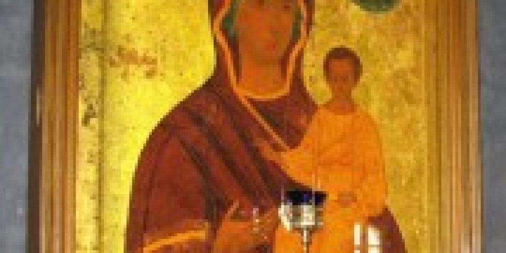 Епископ Воскресенский Савва совершит Божественную литургию в соборе, где находится чтимый образ Смоленской иконы Божией Матери