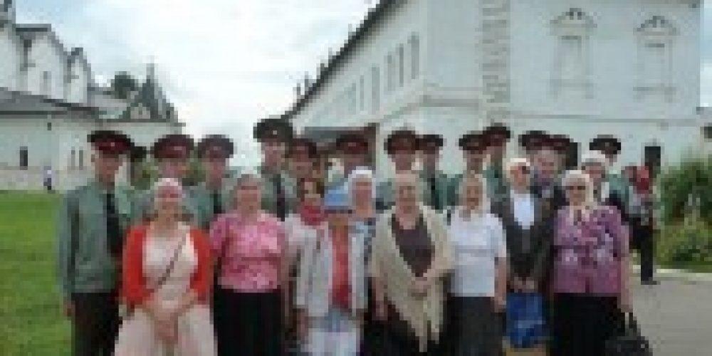 Прихожане храма свт. Григория Неокесарийского совершили экскурсионно-паломническую поездку в Саввино-Сторожевский монастырь