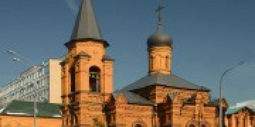 Архиепископ Егорьевский Марк совершил Божественную литургию в храме святителя Митрофана Воронежского на Хуторской