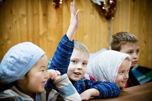 Начались занятий в воскресной школе при храме царя-страстотерпца Николая в Аннино