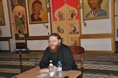 Благочинный Московской духовной академии и семинарии иеромонах Варнава (Лосев) выступил с лекцией в храме Покрова Пресвятой Богородицы в Ясеневе