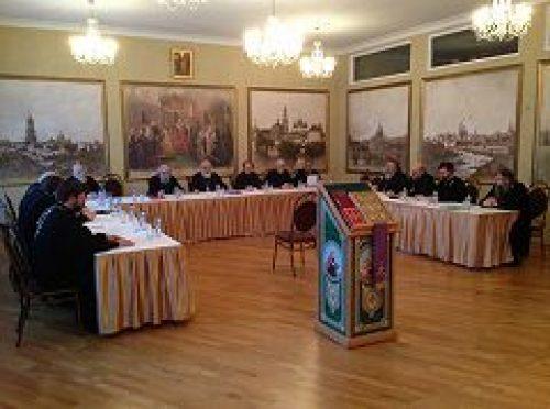 Состоялось первое в текущем году заседание Совета Центрального викариатства