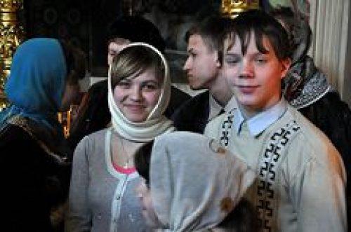Воспитанники коррекционного детского дома № 51 посетили храм Рождества Иоанна Предтечи на Пресне