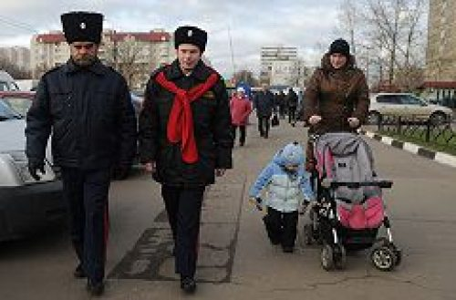 Государство может начать более интенсивно использовать казачьи дружины при патрулировании улиц Москвы