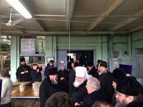 Духовенство города Москвы посетило Художественно-производственное предприятие «Софрино»