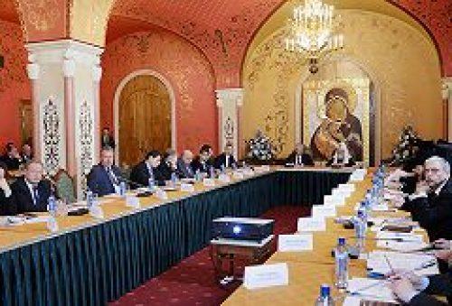 Святейший Патриарх Кирилл возглавил четвертое заседание Попечительского совета Фонда поддержки строительства храмов города Москвы