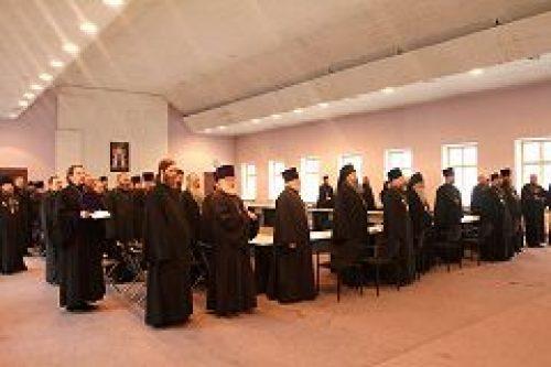 Состоялось собрание духовенства Юго-Западного викариатства