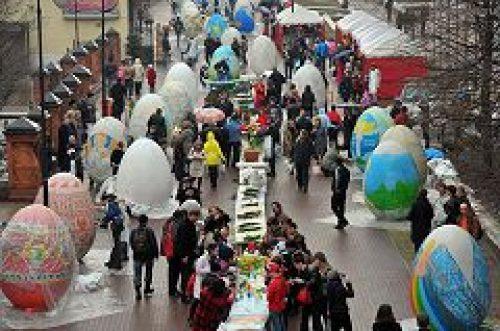 Пасху в столице в этом году отметят с небывалым размахом
