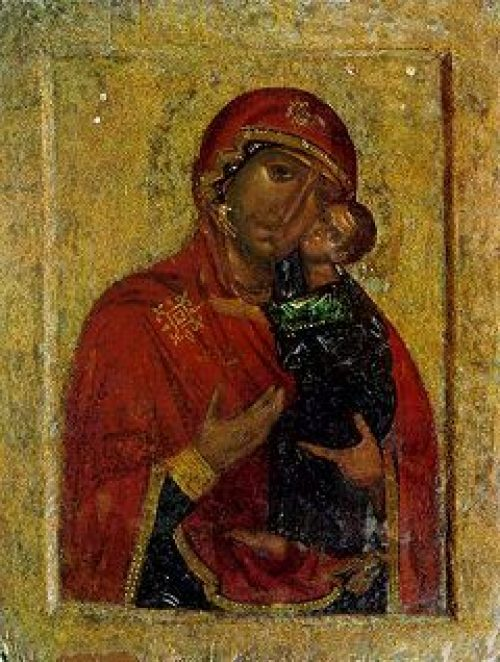 Завершилось пребывание почитаемого образа Толгской иконы Божией Матери в Новоспасском монастыре
