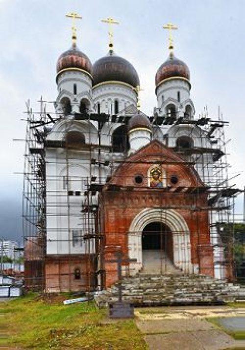 23 Апреля 2014 года состоится малое освящение нижнего придела храма преподобного Серафима Саровского в Раеве