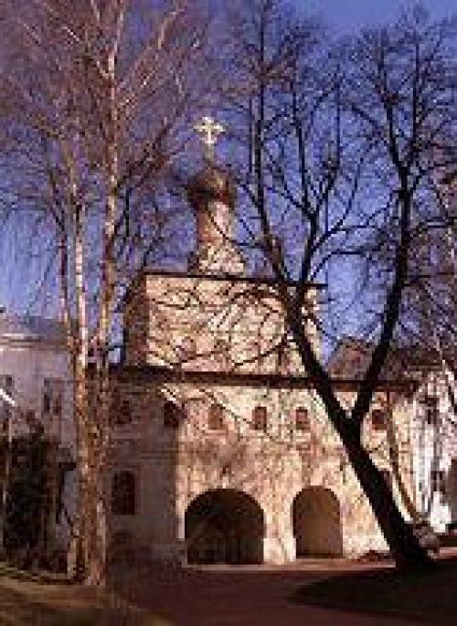 Епископ Дмитровский Феофилакт совершил Божественную литургию в Андреевском ставропигиальном мужском монастыре