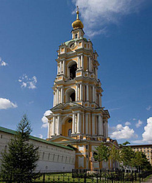 Звонильная неделя в Новоспасском монастыре