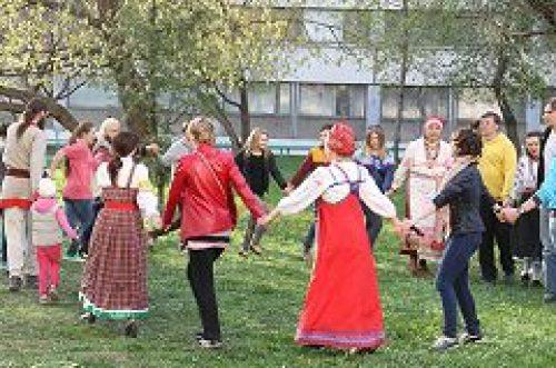 Приход храма Живоначальной Троицы в Старых Черемушках и студком МГУ организовали праздник для студентов и аспирантов