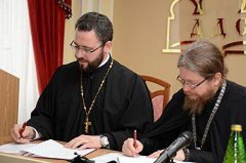 Подписано соглашение о сотрудничестве между Сретенской и Донской духовными семинариями