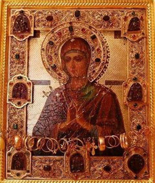 Мироточивая икона Пресвятой Богородицы «Умягчение злых сердец» будет принесена в храм Казанской иконы Божией Матери в с. Сосенки