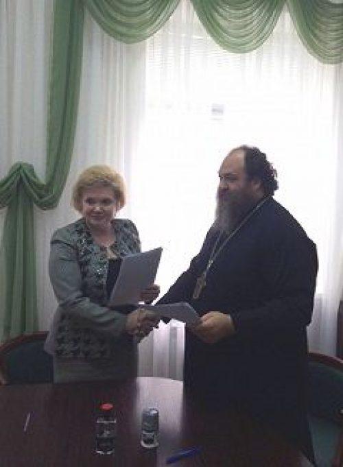 Подписано соглашение о сотрудничестве между храмом прп. Евфросинии, вел. кн. Московской, в Котловке и ГКБ № 64