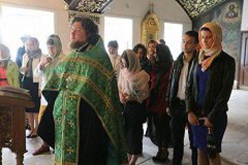 Выпускники общеобразовательных школ посетили Николо-Угрешский монастырь по случаю окончания учебного года