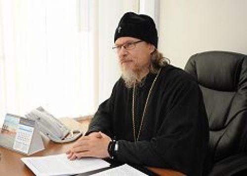 Архиепископ Егорьевский Марк ответил на вопросы москвичей в ходе «прямой линии»