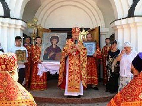 В городе Фрязино прошли торжества, посвященные памяти великомученика и целителя Пантелеимона
