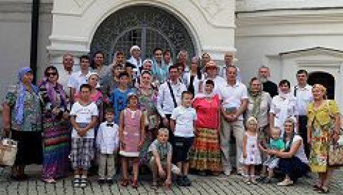 Новоспасский монастырь посетили члены Всероссийского общества гемофилии